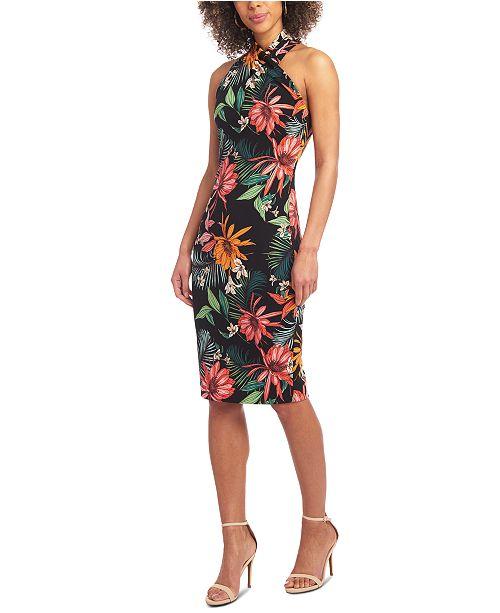 RACHEL Rachel Roy Harland Palms Sheath Dress