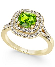 Stone Crystal Halo Birthstone Ring, Created for Macy's
