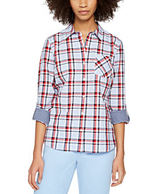 Tommy Hilfiger Plaid Utility Shirt