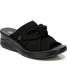 Smile Washable Slip-on Sandals