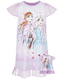 Big & Little Girls 2-Pc. Nightgown & Doll Nightgown Set