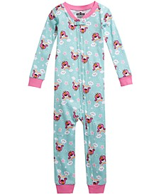 Toddler Girls 1-Pc. Printed Pajamas