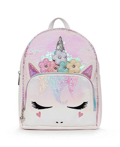 OMG! Accessories Toddler, Little and Big Kids Flower Crown Miss Gwen Unicorn Mini Backpack