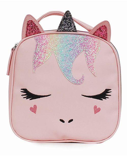 OMG! Accessories Toddler, Little and Big Kids Sugar Glitter Miss Gwen Unicorn Lunch Bag