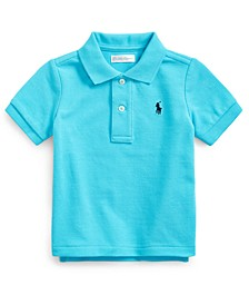 Baby Boys Cotton Mesh Polo