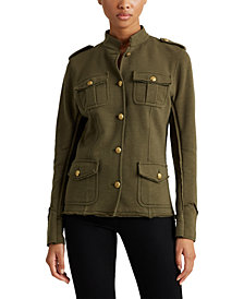 Lauren Ralph Lauren Petite French Terry Jacket
