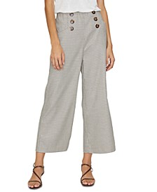 The Marina Printed Pull-On Pants