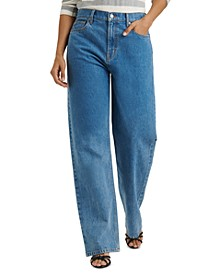 Relaxed Stove Pipe Jeans