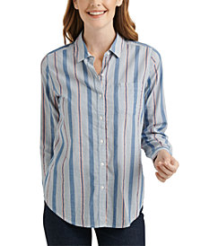 Lucky Brand Classic 1-Pocket Striped Shirt