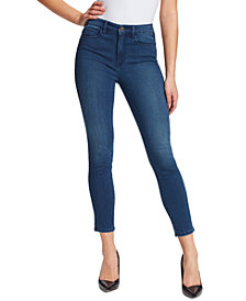Skinnygirl Larry Mid-Rise Ankle Jeans
