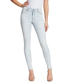 Christina Marie Marble Printed Skinny Jeans