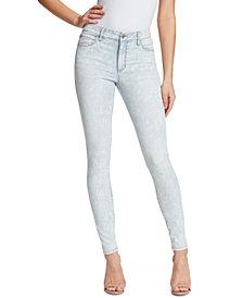 Skinnygirl Christina Marie Marble Printed Skinny Jeans