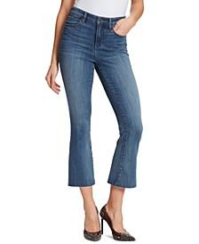 Julie Cropped Flare-Leg Jeans