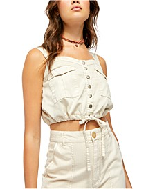 Palm Desert Denim Top