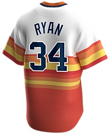 Men's Nolan Ryan Houston Astros Coop Player Replica Jersey