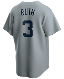 Men's Babe Ruth New York Yankees Coop Player Replica Jersey