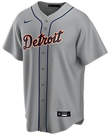 Men's Detroit Tigers Official Blank Replica Jersey