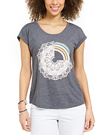 Graphic Cap-Sleeve Top, Created for Macy's
