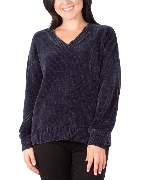 NY Collection V-Neck Sweater