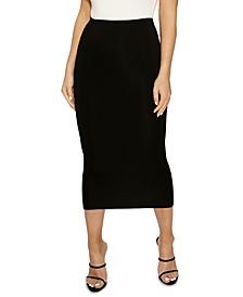The NW Bae-Sic Midi Skirt