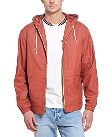 Men's Solid Rain Jacket