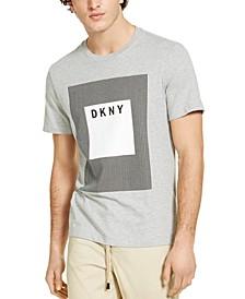 Men's Modern Box Logo Graphic T-Shirt