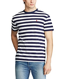 Men's Big & Tall Classic-Fit Striped Cotton T-Shirt