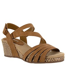 Lee Wedge Sandals