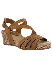 Easy Street Lee Wedge Sandals