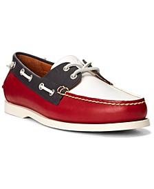 Men's Leather Boat Shoe