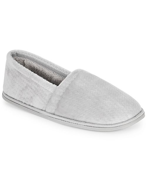 Charter Club Closed-Back Slippers, Created for Macy's
