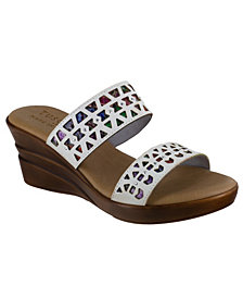 Tuscany by Easy Street Rosalie Wedge Sandals