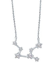 """Diamond (1/5 ct. t.w.) Constellation Pendant 18"""" Necklace in Sterling Silver"""