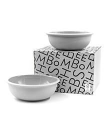 Tinge Porcelain Bowl - Set of 2