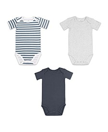 Baby Boy Bodysuit, Pack of 3