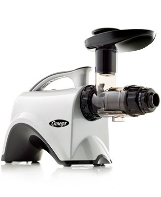 Top Slow Speed Juicer : Omega NC900HDC Chrome Slow Speed Nutrition Center Masticating Juicer - Electrics - Kitchen - Macy s