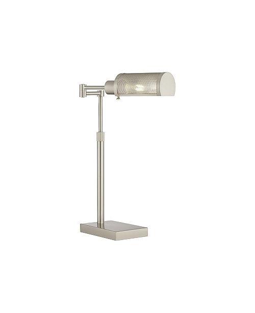 Pacific Coast Lighting Brushed Nickel Swing Floor Lamp