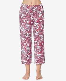 Cropped Pajama Pant