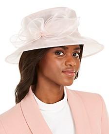 Organza-Bow Dressy Hat