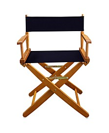 """Extra-Wide Premium 18"""" Directors Chair with Cover"""