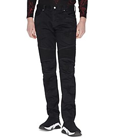 Armani Exchange Men's Skinny-Fit Patch Jeans