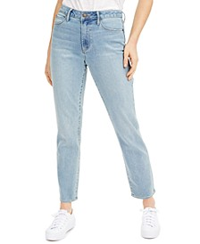 Ankle Straight-Leg Jeans
