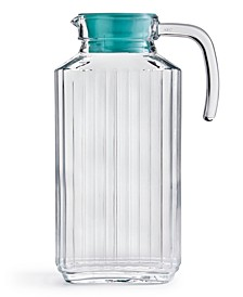 Glass Pitcher with Lid, Created for Macy's