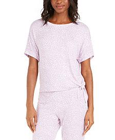 Alfani Side-Tie Sleep T-Shirt, Created for Macy's