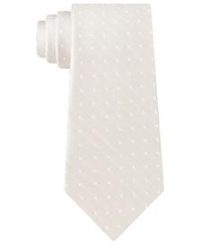 Men's Dotted Weave Tie
