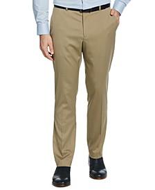 Men's Slim-Fit Stretch Textured Dress Pants