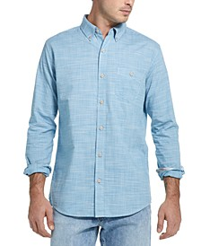 Men's Crosshatch Woven Shirt