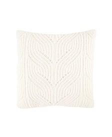 """Sailor Knit 16"""" Square Decorative Pillow"""