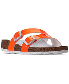 Women's Yao Hex Casual Sandals from Finish Line