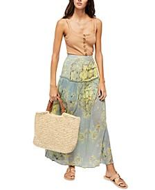 Farrah Drop-Waist Maxi Skirt